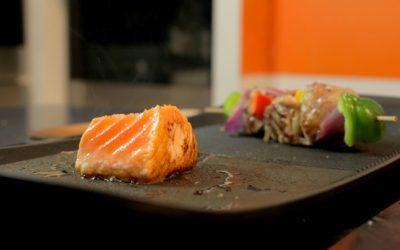 La plancha, idéale pour un repas de famille